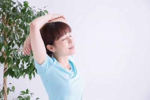 頭痛が解消された女性